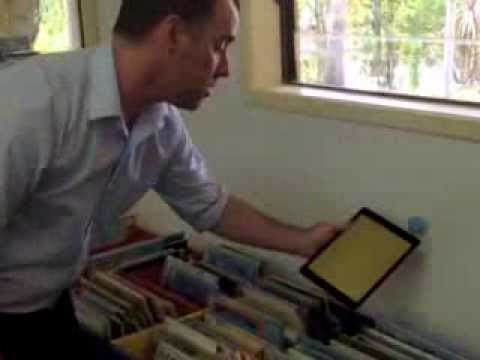 iBeacon Technology in Education Demonstration