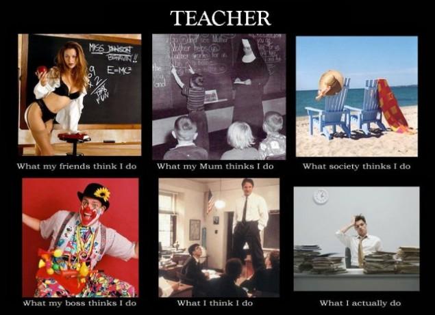 "What Teachers Do – The ""What I Really Do"" Meme"