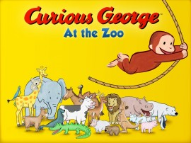Curious George At The Zoo