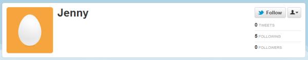 Twitter Blank Profile