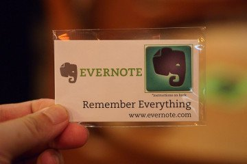 Keep Track of your Lifetime Learning (and Teaching) with Evernote
