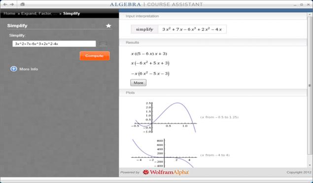 Simplifying Equations