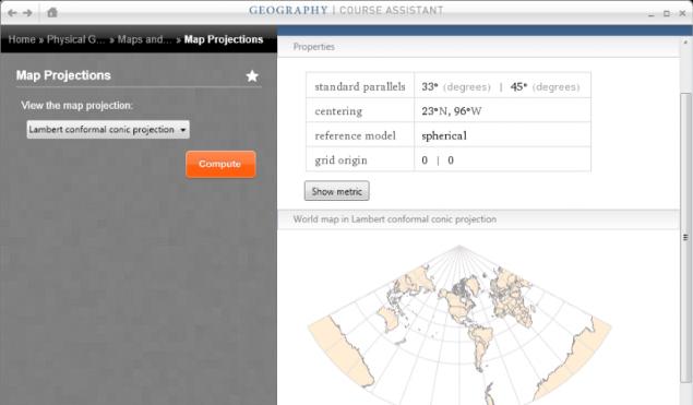 Wolfram Alpha Geography App