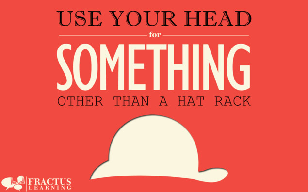 Classroom Poster - Use Your Head