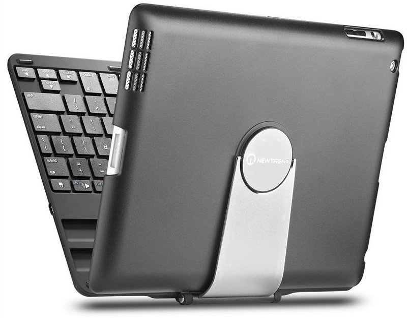 Trent Airbender 1.0 Wireless Bluetooth Clamshell iPad Keyboard Case