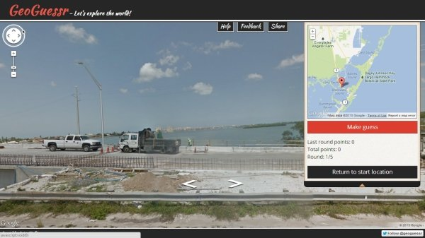 GeoGuessr virtual field trip