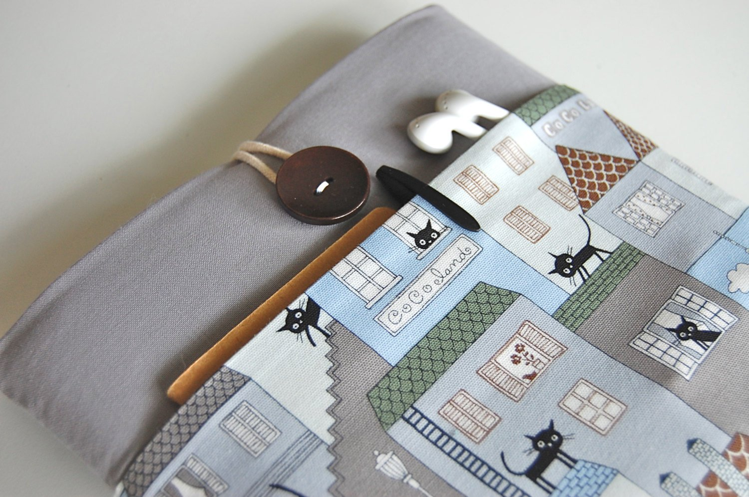 Sleeve Padded Cover - City Cat