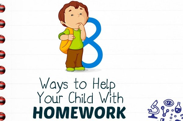 8 Ways To Help Your Child With Homework – INFOGRAPHIC