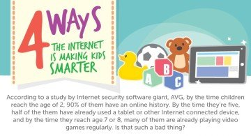4 Ways the Internet is Making Kids Smarter [INFOGRAPHIC]