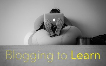 Learning to Blog and Blogging to Learn: One Teacher's Adventure