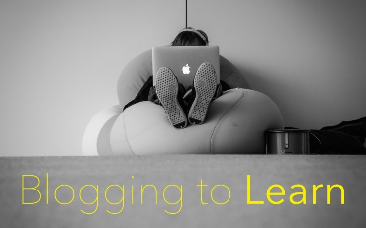 Learning to Blog and Blogging to Learn
