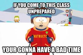Ski Instructor meme