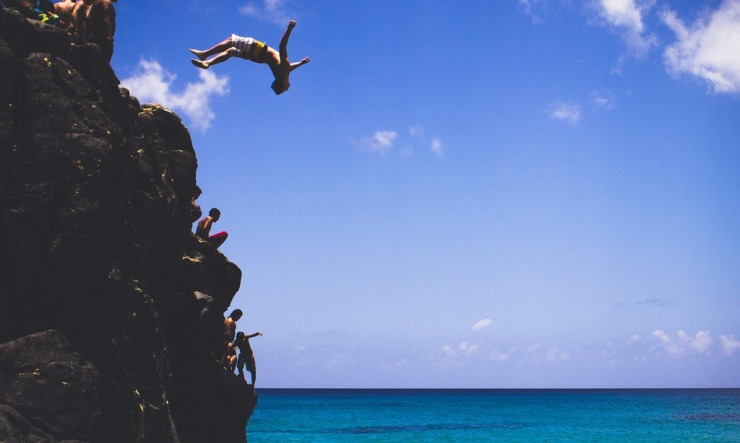 Jumping off the Cliff of Comfortability – Classroom Tech Integration