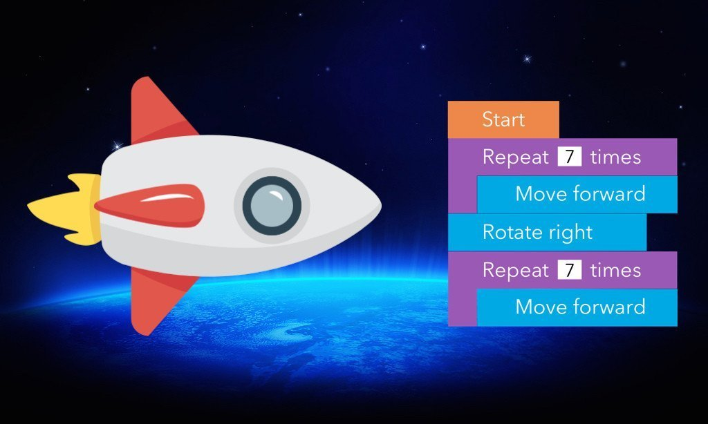 Coding with Paper: FREE Printable Space Race Game for Students