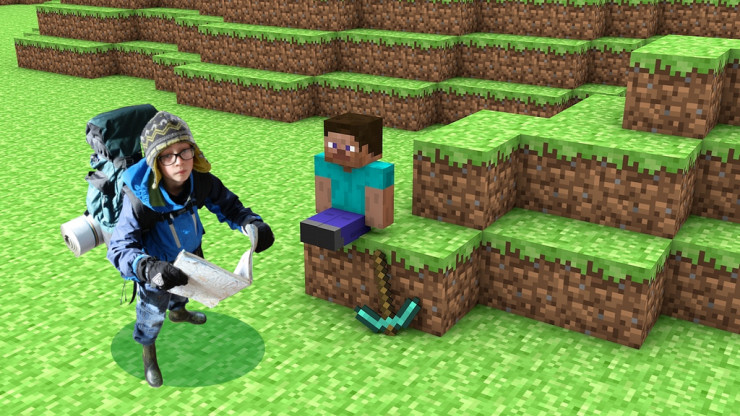 Using Minecraft to Challenge Students