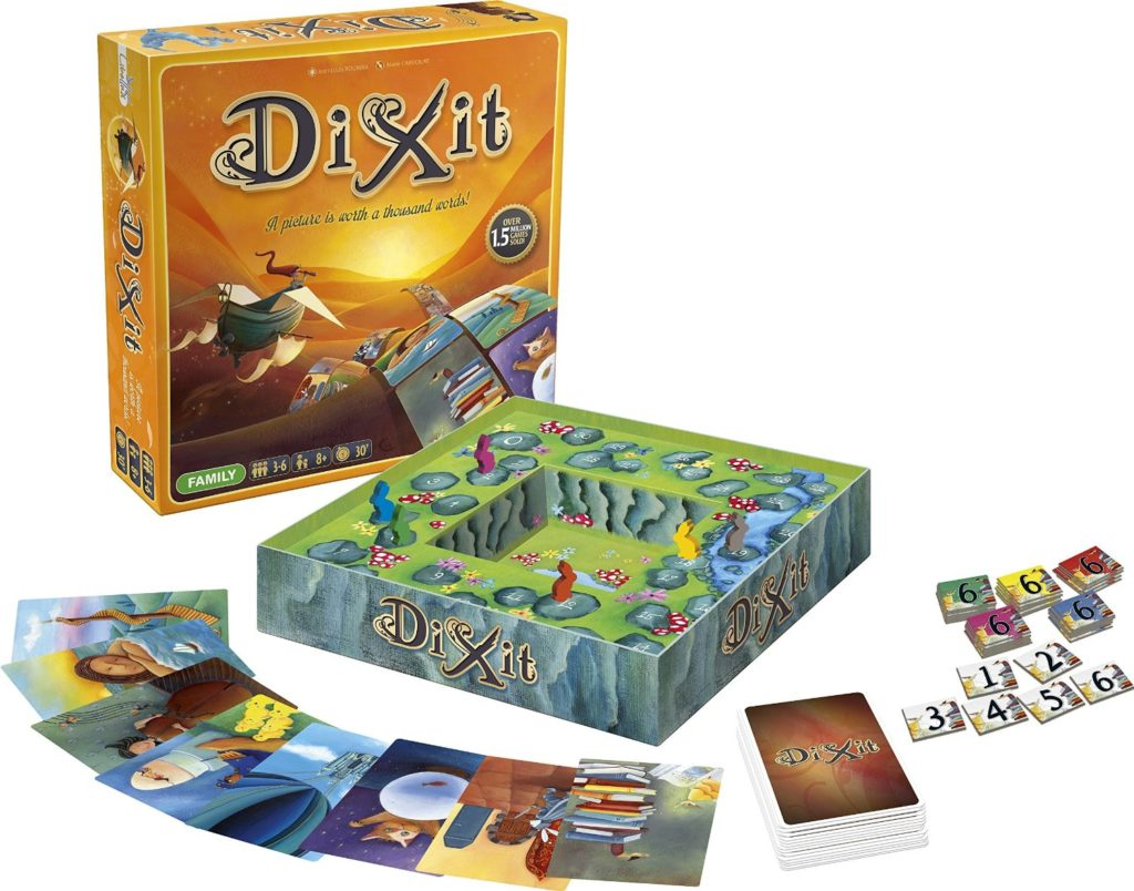 Game board colors - 4 Dixit