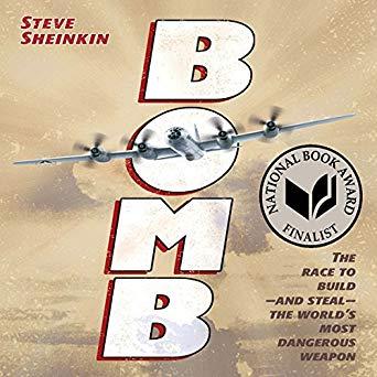 Bomb Audiobok Book Cover
