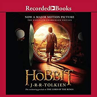 The Hobbit Audiobook Book Cover