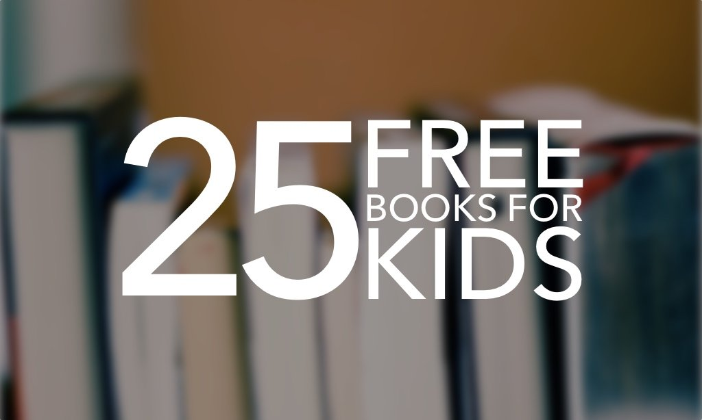 25 Free Books for Kids