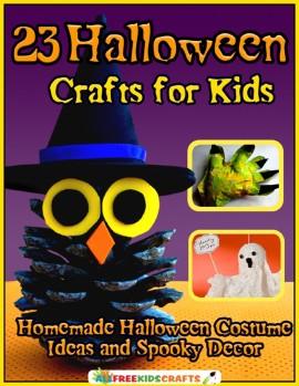 23 Halloween Crafts for Kids