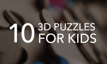 10 of the Best 3D Puzzles for Kids Who Love a Challenge
