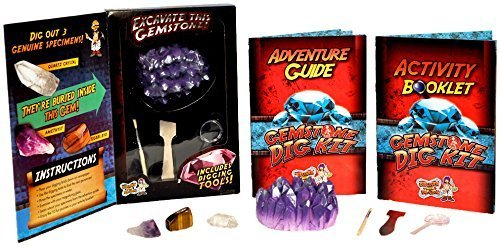 Discover with Dr. Cool Gemstone Dig Science Kit- discovery toys