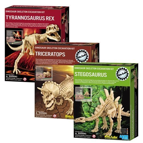 Dig a Dino Excavation Kit 3 Pack- discovery toys