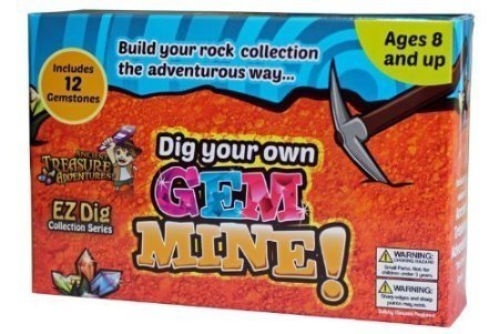Dig Your Own Gem Mine!- discovery toys