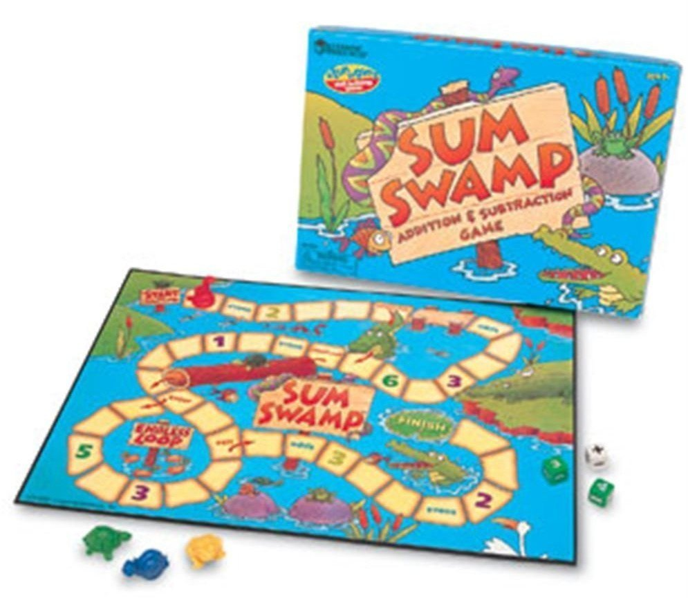 Learning Resources Sum Swamp Game- Math Games for Kids