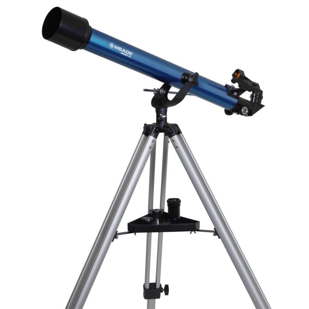 Meade Instruments 209002 Infinity 60 AZ Refractor Telescope- telescopes for beginners
