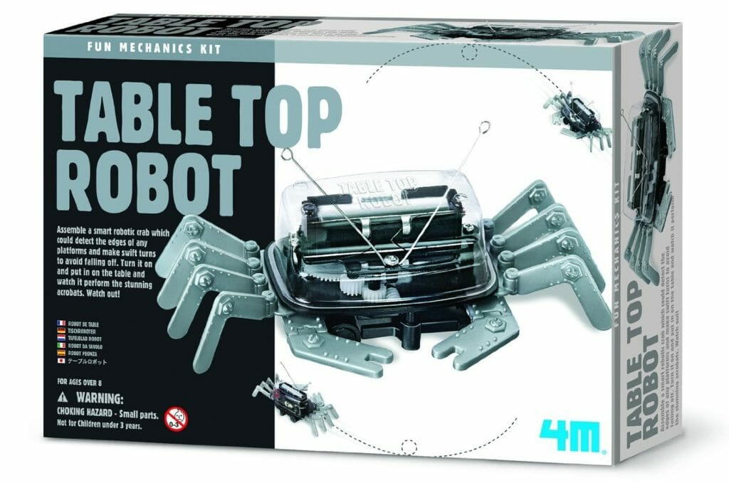 4m table top robot robot kits for kids