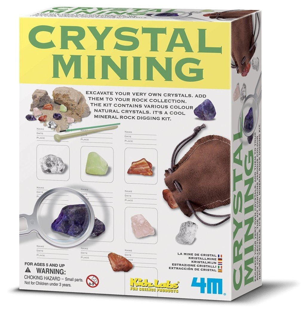 4M Crystal Mining Kit- discovery toys