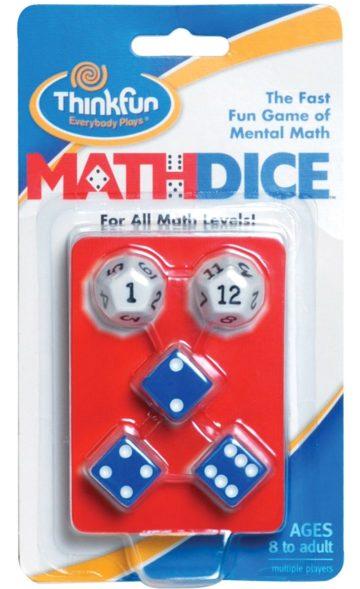 Think Fun Math Dice- Math Games for Kids