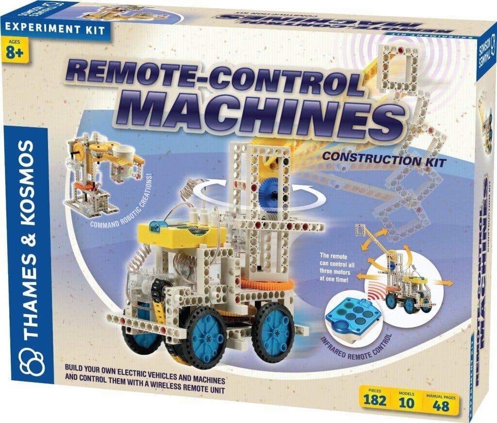 Thames & Kosmos Remote Control Machines- robot kits for kids