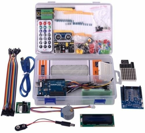 Kuman Project Complete Starter Kit with Tutorial for Arduino UNO R3