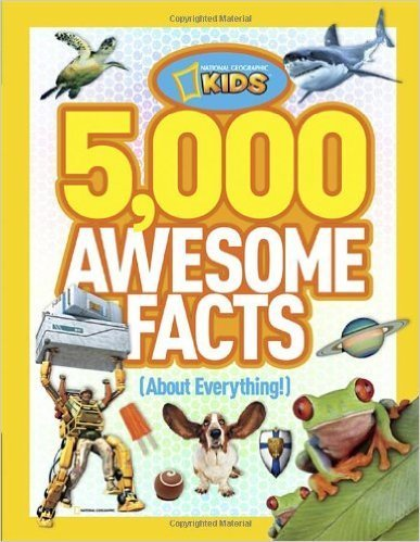 5,000 Awesome Facts (About Everything!)- science books