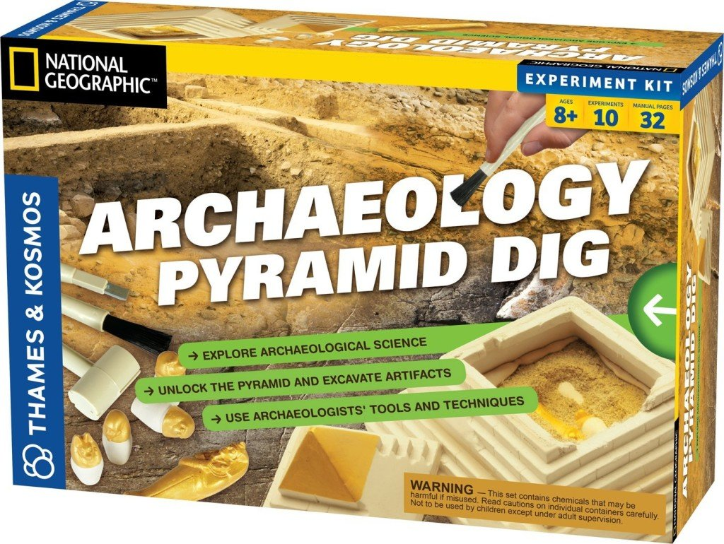 Thames and Kosmos Classic Science Archaeology: Pyramid- discovery toys