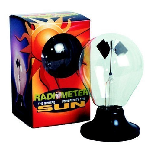 Radiometer- solar powered toys