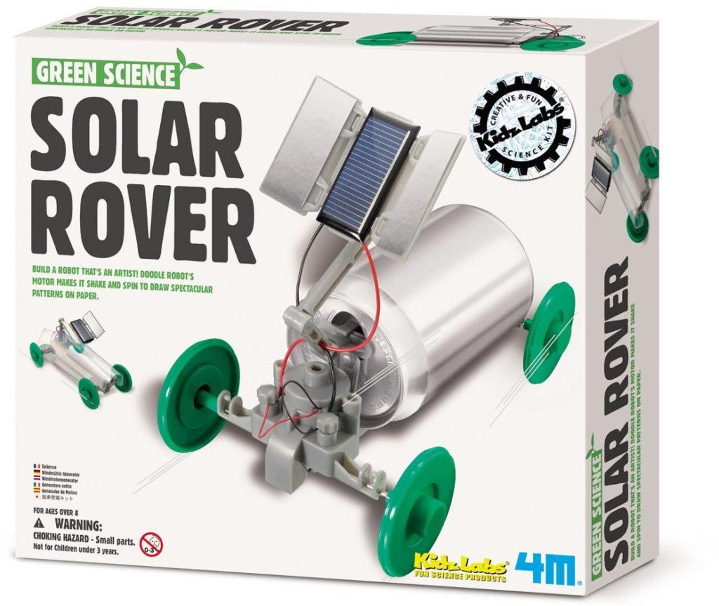 4M Solar Rover Kit- solar powered toys