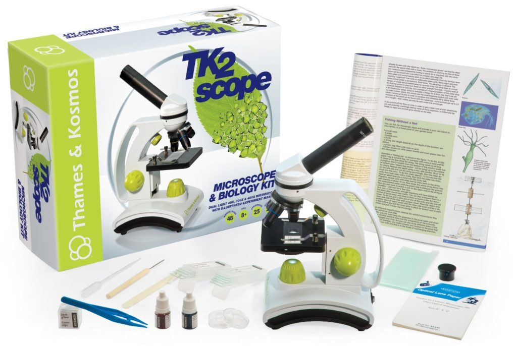 Thames and Kosmos Biology Tk2 Scope- microscopes for kids