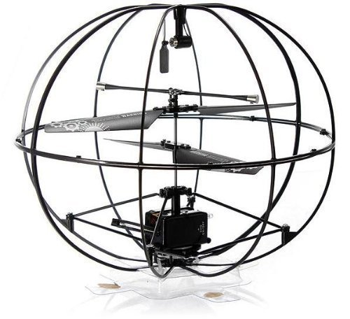 Top Race® Robotic UFO 3 Channel Rc Remote Control Helicopter Flying Ball - flying toys