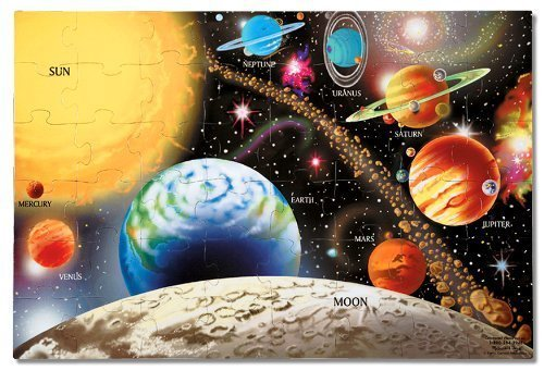 Melissa & Doug Solar System 48 pcs Floor Puzzle - space toys