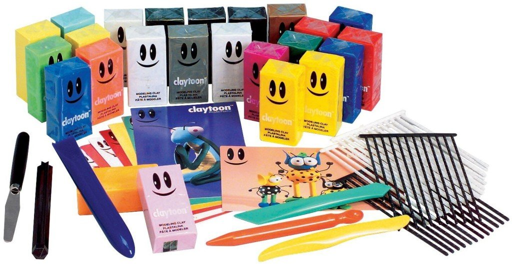 Claytoon Clay Project Studio - stop motion animation kits