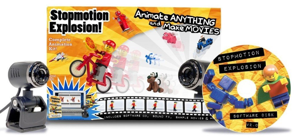 Stopmotion Explosion: Complete Stop Motion Animation Kit - stop motion animation kits