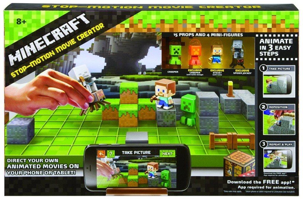 Minecraft Stop-Motion Animation Studio - stop motion animation kits