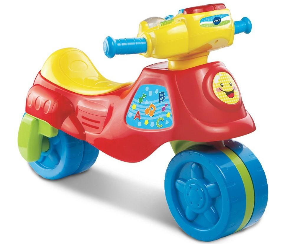 Vtech 3 In 1 Learn And Zoom Motor Bike - ride on toys