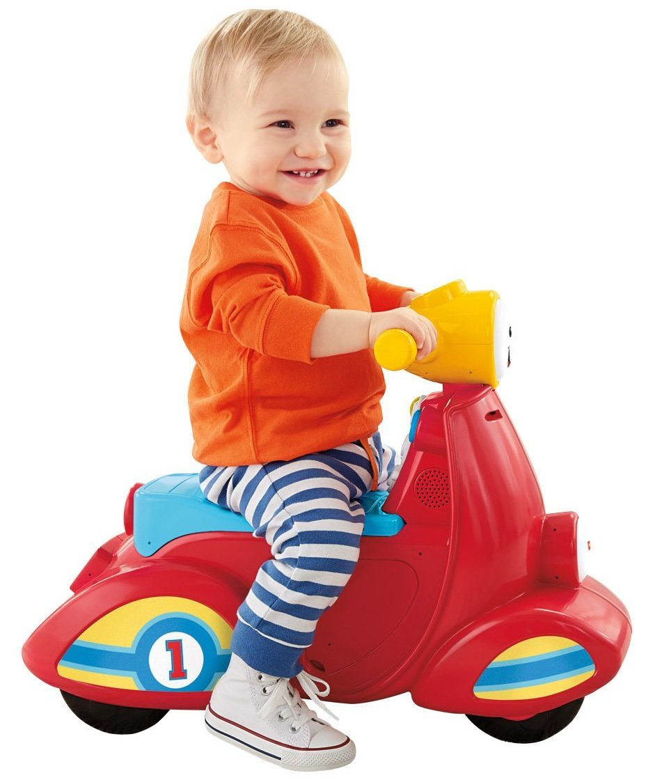 Fisher-Price Laugh & Learn Smart Stages Scooter - ride on toys