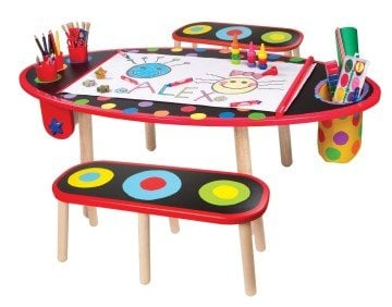 Kids Picnic Table - ALEX Toys Artist Studio Super Art Table with Paper Roll