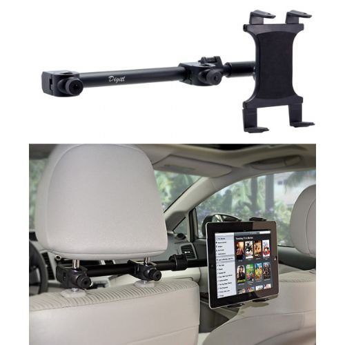 Multi Passenger Universal Headrest Cradle Car Mount