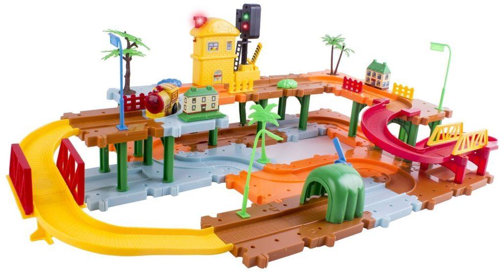 http://www.amazon.com/WolVol-Tunnels-Bridges-Battery-Operated/dp/B00N9Q82IO - train sets for kids